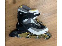 Inline Skates (Salomon) with rucksack & safety gear