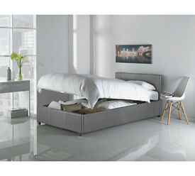 Hygena Lavendon Single Ottoman Bed Frame - Grey