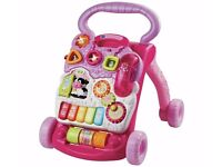 vtech pink baby walker box piece