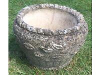 Stone Garden Pot