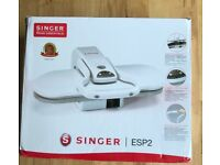 Singer ESP 2 ironing machine. Cut your ironing time in half. Used 3 times.
