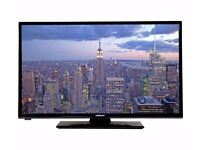 """32 """" LED TV with built in freeview with Brand New Sound Bar"""