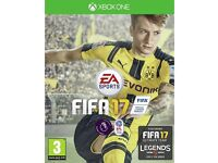 FIFA 17 GAMES SEALED