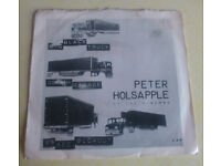 Peter Holsapple (of the H-Bombs): Big Black Truck / 96 Second Blowout/ Death Garage (1978 - CRR 5)