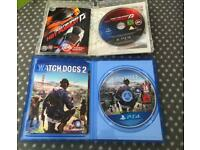 Watchdogs 2 + Need For Speed Hot Pursuit - PS4 PS3 PlayStation