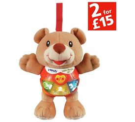 vtech singing alfie in excellent condition with batteries. barely used in box