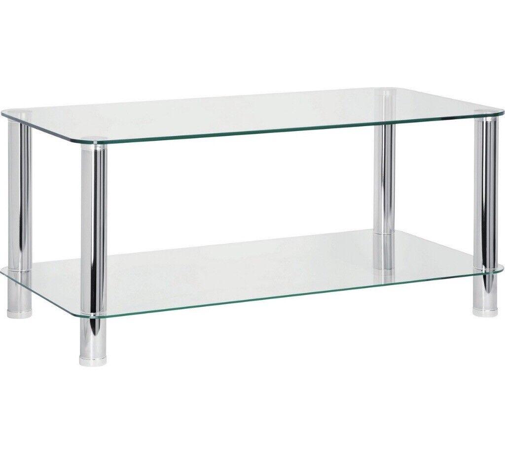 Glass Coffee Table *RRP: £70*