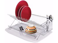 HOME Dish Rack with Drainer