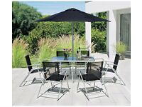 HOME Pacific 6 Seater Patio Furniture Set 363.