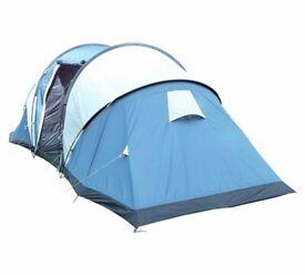 050942aaf77 Trespass Go Further 6 Man 2 Room Tunnel Tent