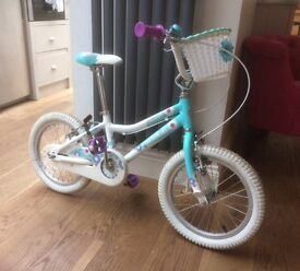 Girls 'Giant' bicycle 16'' Puddn - Hardly Used