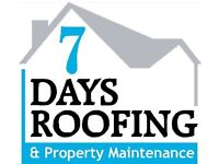 7 Days Roofing & Property Maintenance.