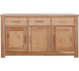 Ex display Schreiber Harbury Large Sideboard - Oak