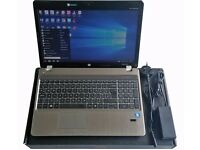 Aluminium Chassis HP Probook AMD Dual Core, 4GB RAM, Dedicated GPU, 500GB HDD, DVDRW, WiFi, BT, 15.6
