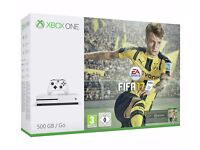 Xbox One S 500 GB Console with FIFA 17 Bundle