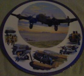 lovely Royal Worcester Ltd Edition collectable Aviation plate by Keith Woodcock.