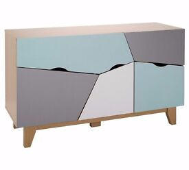 Ex display Multicoloured Sideboard