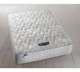 Double bed size Mattress - Silentnight Miracoil Travis Microquilt