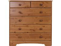 Pine Nordic 4x2 Drawer Chest. Never used or assembled!