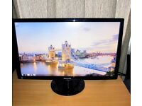 Philips E-line 241E1SB 24in Widescreen 1920x1080p Full HD LCD Monitor