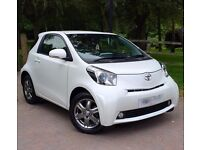 Rare Pearl White Toyota IQ 2 One Female Owner FullToyotaSH Free Road Tax Keyless Entry Keyless Start