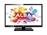 "ALBA 19"" TV with in built dvd player"