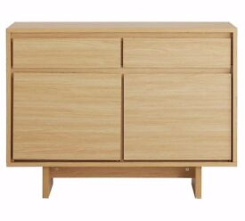 Ex display Linear 2 Door 2 Drawer Sideboard