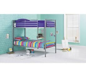 £30 OFF!!! NEW Samuel Single Bunk Bed Frame - Silver