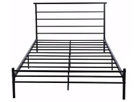 USED DOUBLE BED FRAME -BLACK £20