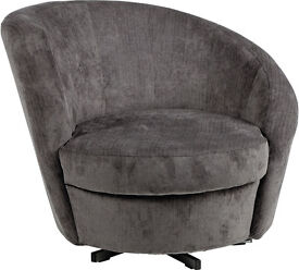 Fabric Chair - Charcoal