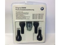 GENUINE BMW LOCKING SECURITY WHEEL BOLTS NUTS SET 36136792849
