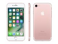 Apple iPhone 7 32GB Rose Gold - Unlocked/Sim Free