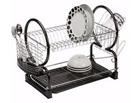 New kitchen dish rack 2 tier