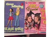 2 teenage girls books