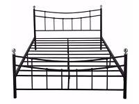 Kingsize Darla Bed Frame - Black