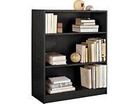 Small Bookcase - Black Ash/ book shelves