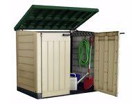 Keter Store It Out Max Garden Storage Box - Cream 435.