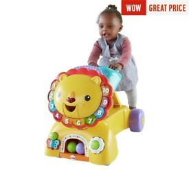 Fisher price sit ride and stride lion