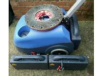 Numatic battery and mains scrubber drier floor cleaning machine