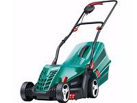 Bosch total 37 electric lawnmower