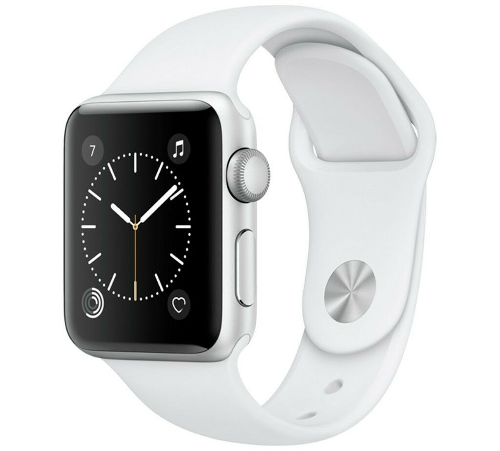 Unopened Apple Watch Series 1 38mm Silver Aluminium Case - White Sport Band