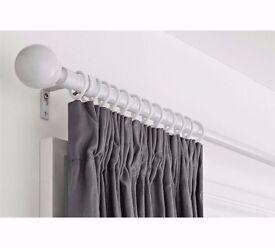 Brand new curtain rod / rail / pole