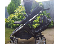 £200 Britax B Dual buggy with extras