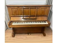 Rare C. Bechstein Model 8 Upright Piano - Delivery