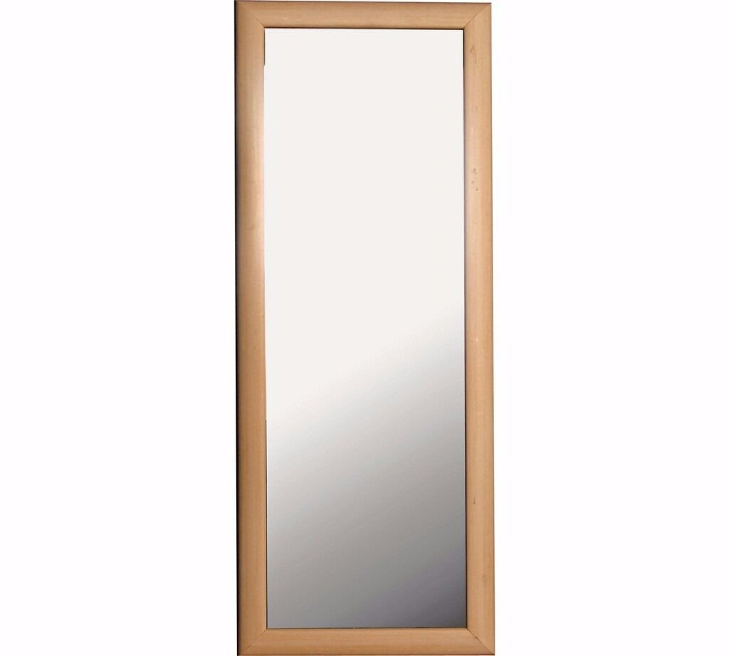 Bathroom Mirrors Gumtree simple wooden frame mirror + bathroom mirror | in edge hill