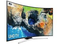 """Samsung 55"""" 4K curved HDR tv. Nearly new!"""
