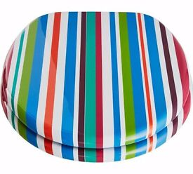 ColourMatch Toilet Seat - Stripes