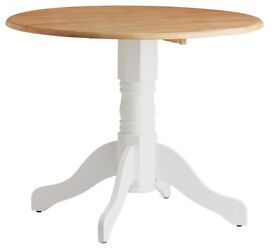 Kentucky Drop Leaf Table - Oak White