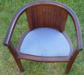 Dark Mahogany Dining Room Chairs