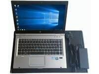 New Condition HP Business Laptop Core i5, 8GB RAM, DVDRW, WiFi, BT, Webcam, 14 inch High Res Display